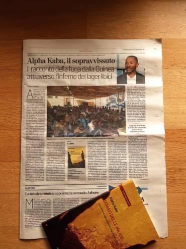 Alpha Kaba, il sopravvissuto. Il racconto della fuga dalla Guinea attraverso l'inferno dei lager libici